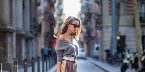 Clothing, Street fashion, Fashion, Shoulder, Dress, Beauty, Fashion model, Waist, Snapshot, Pink,