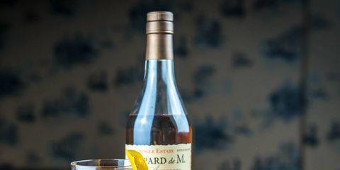 Alcoholic beverage, Drink, Distilled beverage, Liqueur, Alcohol, Bottle, Glass bottle, Glass, Wine glass, Ingredient,