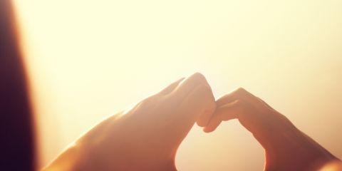 Light, Heart, Love, Sky, Finger, Hand, Photography, Graphics, Gesture,