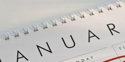 Calendar, Text, Font, Paper, Number,