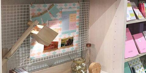 Room, Shelf, Furniture, Property, Desk, Interior design, Table, House, Home, Design,