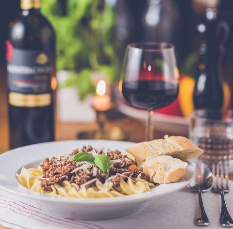Food, Cuisine, Dish, Ingredient, Italian food, Wine, Comfort food, À la carte food, Red wine, Recipe,