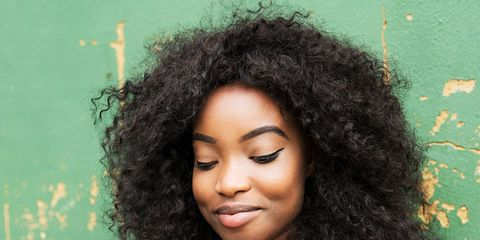 Hair, Hairstyle, Jheri curl, Black hair, Afro, Human, S-curl, Long hair, Lace wig, Photography,