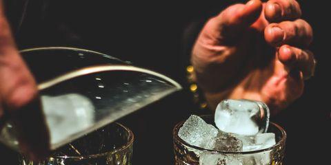 Drink, Alcohol, Liqueur, Alcoholic beverage, Distilled beverage, Old fashioned glass, Cocktail, Glass, Barware, Negroni,