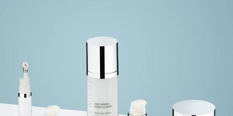 Product, White, Beauty, Skin, Skin care, Design, Material property, Bottle, Cream, Perfume,
