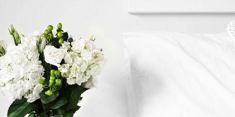 White, Flower, Bouquet, Cut flowers, Room, Plant, Vase, Petal, Furniture, Still life photography,