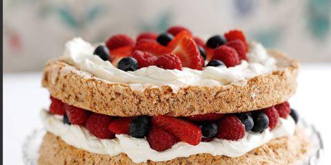 Food, Cuisine, Dessert, Baked goods, Serveware, Dishware, Fruit, Sweetness, Ingredient, White,