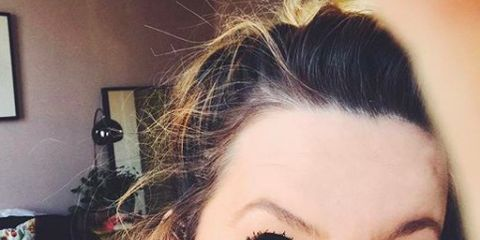 Face, Hair, Eyebrow, Lip, Forehead, Hairstyle, Nose, Beauty, Skin, Eye,