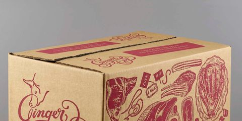 Box, Pink, Visual arts, Motif, Party favor, Paisley, Packaging and labeling, Pattern, Art,