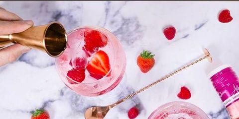 Frozen dessert, Food, Fruit, Finger, Dessert, Flower, Petal, Gelato, Wine cocktail, Peach,