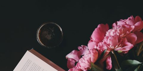 Pink, Flower, Beauty, Text, Peony, Plant, Petal, Botany, Cut flowers, Spring,