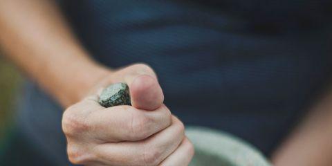 Hand, Finger, Automotive wheel system, Nail, Pebble, Thumb, Rock, Wheel, Gesture,
