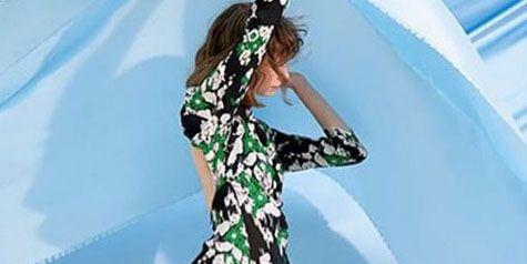Clothing, Dress, Fashion model, Shoulder, Green, Waist, Joint, A-line, Fashion, Formal wear,