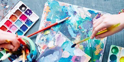 Graphic design, Art, Design, Visual arts, Finger, Hand, Collage, Textile, Watercolor paint, Paper,