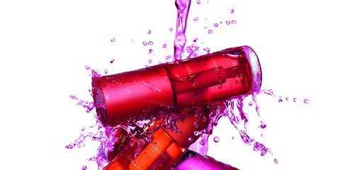 Pink, Magenta, Material property, Cylinder, Gloss,