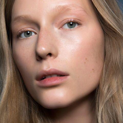 Face, Hair, Lip, Eyebrow, Cheek, Nose, Skin, Chin, Close-up, Blond,