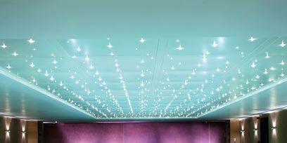 Blue, Swimming pool, Ceiling, Fluid, Room, Light, Turquoise, Interior design, Aqua, Azure,