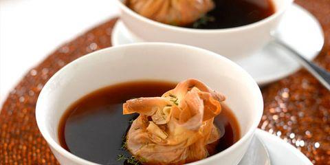Serveware, Food, Ingredient, Cuisine, Dish, Dishware, Tableware, Orange, Spoon, Recipe,