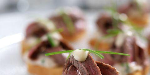 Food, Cuisine, Finger food, Dish, Ingredient, Baked goods, Recipe, Garnish, Snack, Plate,