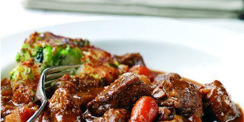 Food, Cuisine, Dishware, Meat, Dish, Tableware, Recipe, Plate, Ingredient, Cooking,