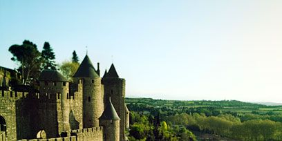 Vegetation, Grass, Landscape, Wall, House, Castle, History, Grass family, Ancient history, Medieval architecture,