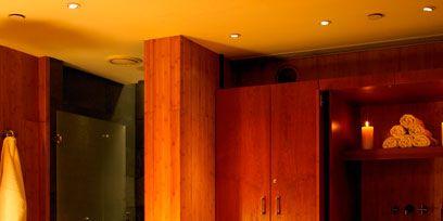 Lighting, Room, Interior design, Property, Ceiling, Interior design, Linens, Floor, Amber, Orange,