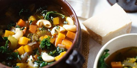 Food, Dish, Ingredient, Soup, Cuisine, Produce, Recipe, Bowl, Meal, Kitchen utensil,