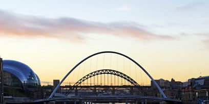 Bridge, Water, Tied-arch bridge, Arch bridge, Waterway, Arch, Reflection, Liquid, Evening, River,