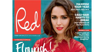 Mouth, Lip, Eye, Sleeve, Human body, Publication, Advertising, Beauty, Wrist, Fashion,