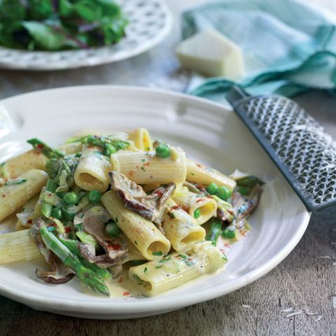 Dish, Food, Cuisine, Penne, Ingredient, Pasta salad, Italian food, Pasta, Produce, Staple food,