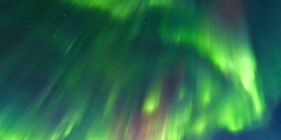 Green, Aurora, Winter, Slope, Geological phenomenon, Glacial landform, Space, Snow, Freezing, Tundra,