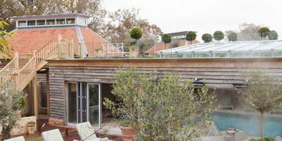 Plant, Flowerpot, Property, Landscape, Real estate, Swimming pool, Resort, Residential area, Garden, Backyard,