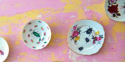 Serveware, Dishware, Porcelain, Pink, Plate, Tableware, Ceramic, Lavender, Saucer, Platter,