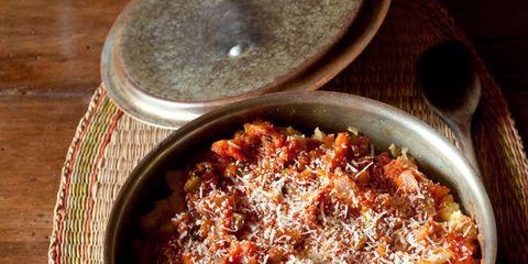 Food, Serveware, Dish, Cuisine, Recipe, Ingredient, Comfort food, Dishware, Cassolette, Gratin,