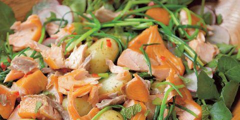 Food, Salad, Vegetable, Ingredient, Produce, Leaf vegetable, Garden salad, Vegan nutrition, Recipe, Cuisine,