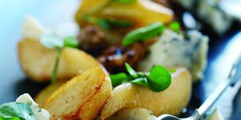 Food, Dishware, Tableware, Kitchen utensil, Plate, Ingredient, Cuisine, Recipe, Serveware, Potato wedges,