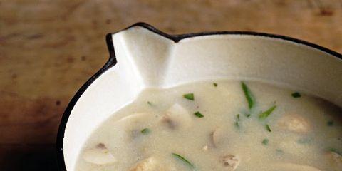 Food, Cuisine, White, Dish, Recipe, Liquid, Soup, Ingredient, Comfort food, Condiment,
