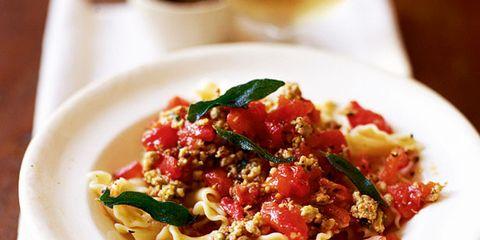 Food, Cuisine, Dishware, Ingredient, Dish, Tableware, Serveware, Recipe, Kitchen utensil, Pasta,