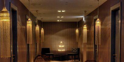 Lighting, Interior design, Floor, Ceiling, Room, Amber, Light fixture, Interior design, Door, Ceiling fixture,