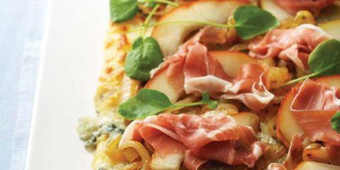 Food, Cuisine, Ingredient, Dish, Finger food, Recipe, Fast food, Pizza, Prosciutto, Comfort food,