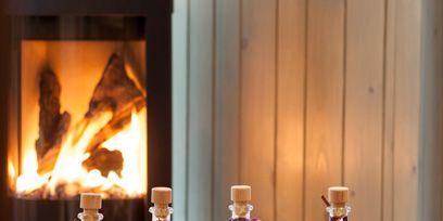 Liquid, Fluid, Perfume, Glass, Bottle, Flame, Fire, Solvent, Heat, Glass bottle,