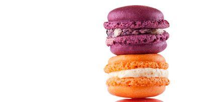Macaroon, Sweetness, Food, Finger food, Cuisine, Dessert, Baked goods, Cookies and crackers, Ingredient, Confectionery,