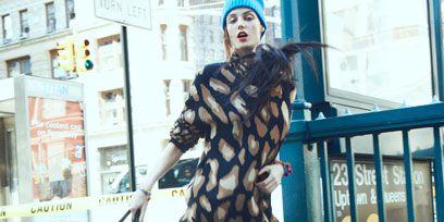 Style, Bag, Street fashion, Cone, Fashion, Luggage and bags, Shoulder bag, Fur, Visual arts, Costume,