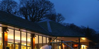 Swimming pool, Lighting, Property, Real estate, Resort, Reflection, Umbrella, Evening, House, Home,