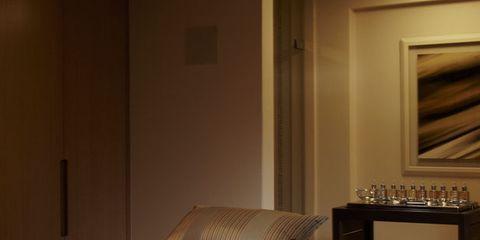Wood, Room, Interior design, Property, Bed, Floor, Textile, Flooring, Wall, Bedroom,