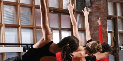 Human leg, Performing arts, Physical fitness, Barefoot, Thigh, Foot, Knee, Performance art, Calf, Active pants,