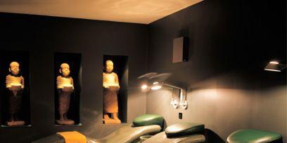 Lighting, Interior design, Room, Floor, Ceiling, Wall, Interior design, Light fixture, Picture frame, Armrest,