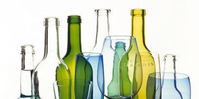 Blue, Glass, Yellow, Drinkware, Bottle, Barware, Glass bottle, Stemware, Aqua, Teal,