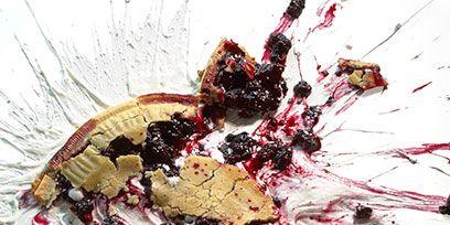 Food, Ingredient, Garnish, Dessert, Plate, Paint, Art paint, Drawing, Snack,