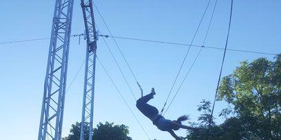Nature, Natural environment, Fun, Entertainment, Photograph, Performing arts, Line, Performance, Black, Rope,